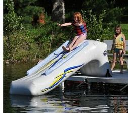 NEW Rave Sports 00002 Dock Mounted 9' Inflatable Water Slide