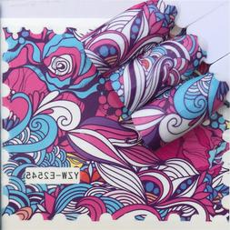 1 Sheet Mandala Water Transfer Slides Nail Art Stickers Wrap