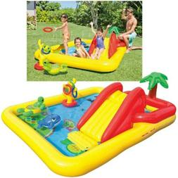 "Intex 100"" x 77"" Inflatable Ocean Play Center Kids Backyard"