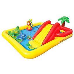 """Intex 100"""" x 77"""" Inflatable Ocean Play Center Kids Backyard"""