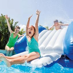 """Intex 131"""" x 81"""" x 46"""" Kool Splash Inflatable Pool Water Sli"""