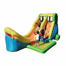 17 Ft Inflatable Bounce House Water Slide Waterslide Half Pi