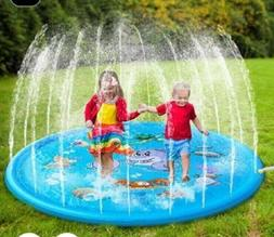 170cm Inflatable Spray Water Cushion Summer Kids Play Water
