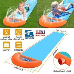 18ft Inflatable Kids Single Water Slide Summer Out door Wate