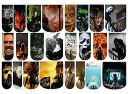 24 WATER SLIDE NAIL ART DECALS * HALLOWEEN HORROR MOVIES  *