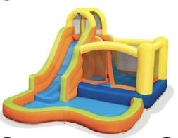 Banzai 28007 Sun 'N Splash Fun Kids Inflatable Bounce House