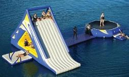 25 x40x20 Commercial Inflatable Water Slide Trampoline Cours
