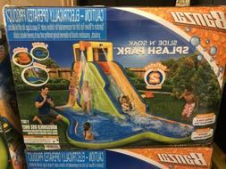 35076 slide n soak inflatable splash park