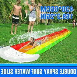 4m surf water slide mat for children
