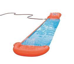 Bestway 52254E Single Water Slide, Orange/Blue