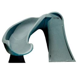S.R. Smith 698-209-58124 Cyclone Right Curve Pool Slide, Gra