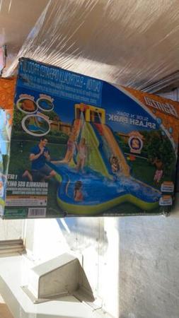 90321 slide n soak splash park inflatable