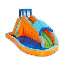 90330 oversized backyard inflatable surf rider aqua