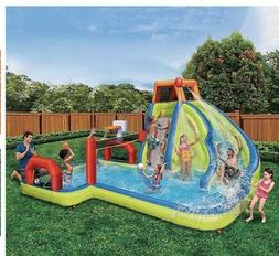 Banzai Aqua Sports Water Park Inflatable Kids Aquatic Activi