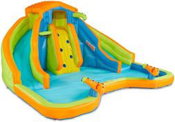 BANZAI 90369 Adventure Club Water Park Inflatable 2 Lane Wat