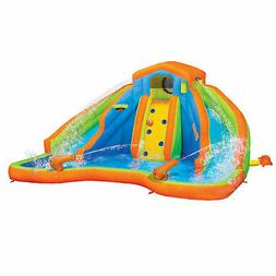 Banzai 90369 Adventure Club Water Park Inflatable 2 Lane Wat