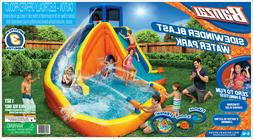 Banzai Sidewinder Falls Inflatable Water Park Play Pool Slid