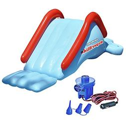 Swimline 90809 Super Water Slide Swimming Pool Inflatable Ki