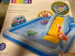 "Intex 96"" x 78"" x 28"" Inflatable Jungle Adventure Play Cente"
