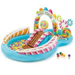Intex 9ft x 6ft x 51in Kids Inflatable Candy Zone Play Cente