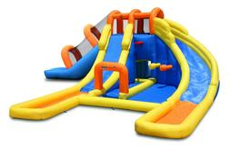 Bounceland Big Splash Dual Water Slides and Pool Water Park
