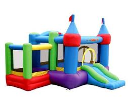 Bounceland Inflatable Dream Castle with Ball Pit Bounce Hous