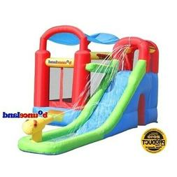 Inflatable Bounce House and Water Slide Wet or Dry Playstati