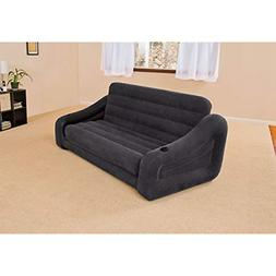 "Intex Pull-out Sofa Inflatable Bed, 76"" X 87"" X 26"", Queen"