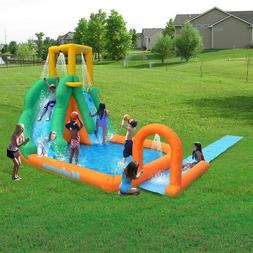 Twist Blast N Slide Waterslide