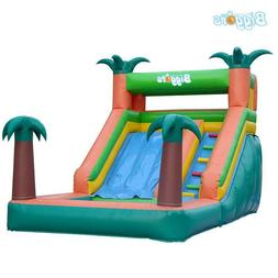 All In One Tropical Commercial Grade Inflatable Water Slides