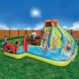 NEW Banzai Aqua Sports Inflatable Water Park #74173, Free Sh