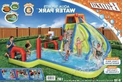 Banzai Aqua Sports Water Park Inflatable Activity Play Cente