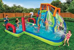 Banzai Aqua Sports Water Park Inflatable Activity Play Cente