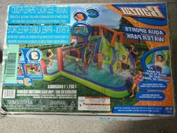 Banzai Aqua Sports Water Park Inflatable Aquatic Activity Pl