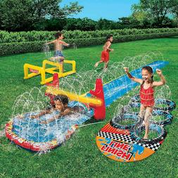 Banzai Aqua Blast Obstacle Course Water Toys For Outdoor Pla