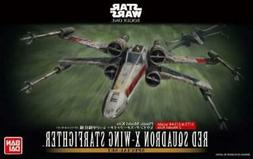 Authentic Bandai Star Wars X-wing starfighter Red Squadron 1