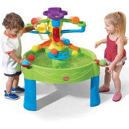 Ball Play Table Busy Ten Balls Scoop Child Kids Water Pool G