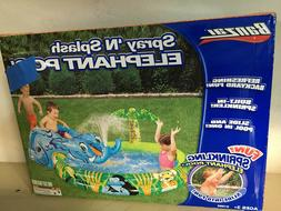 Banzai Spray N Splash Elephant Pool Inflatable Swimming Wate