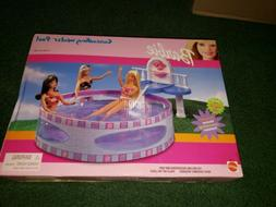 Barbie ~ Cascading Water Pool New 1999