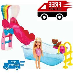 Barbie Chelsea Pool - Water Fun! Playset