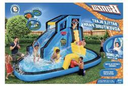 Banzai BATTLE BLAST ADVENTURE Inflatable Water Park Slide Ki