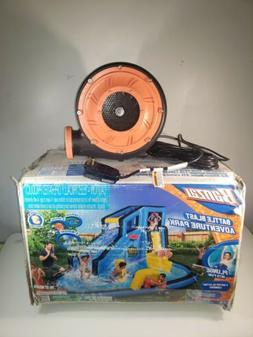 Banzai Battle Blast Adventure Park Inflatable Slide Water Sp