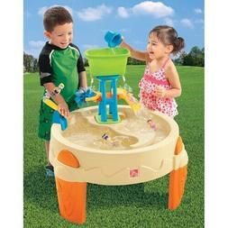 Step2 Big Splash Waterpark Water Wheel Slide Toddlers Outdoo