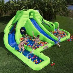 Blast Zone Inflatable Bounce House: Ultra Croc 13-in-1 Infla