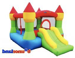 Bounce House - Castle Bounce N' Slide w/hoop