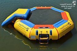 Island Hopper 10' Bounce N Splash Water Park with Bouncer Sl