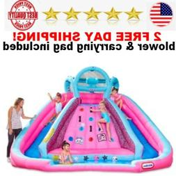 bouncer inflatable 2 water slide with blower