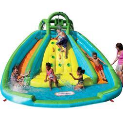 Kids Large Inflatable Water Slide Bouncer Splash Island Outd