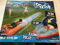Brand New Bestway H2OGO! 18' Single Water Slide Ramp H2O Go