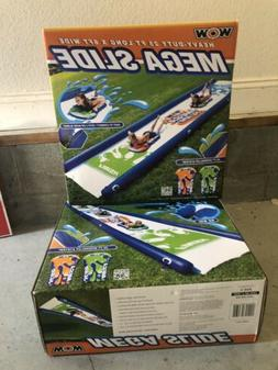 Brand new WOW Mega Water Slide Sports Backyard Fun with 2 sl